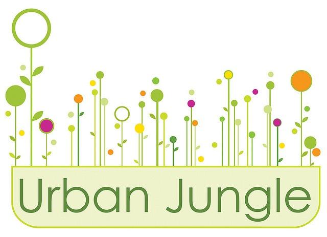Logo For Organic Garden Center That Features Urban Window Boxes. Urban  Jungle Phila Logo By