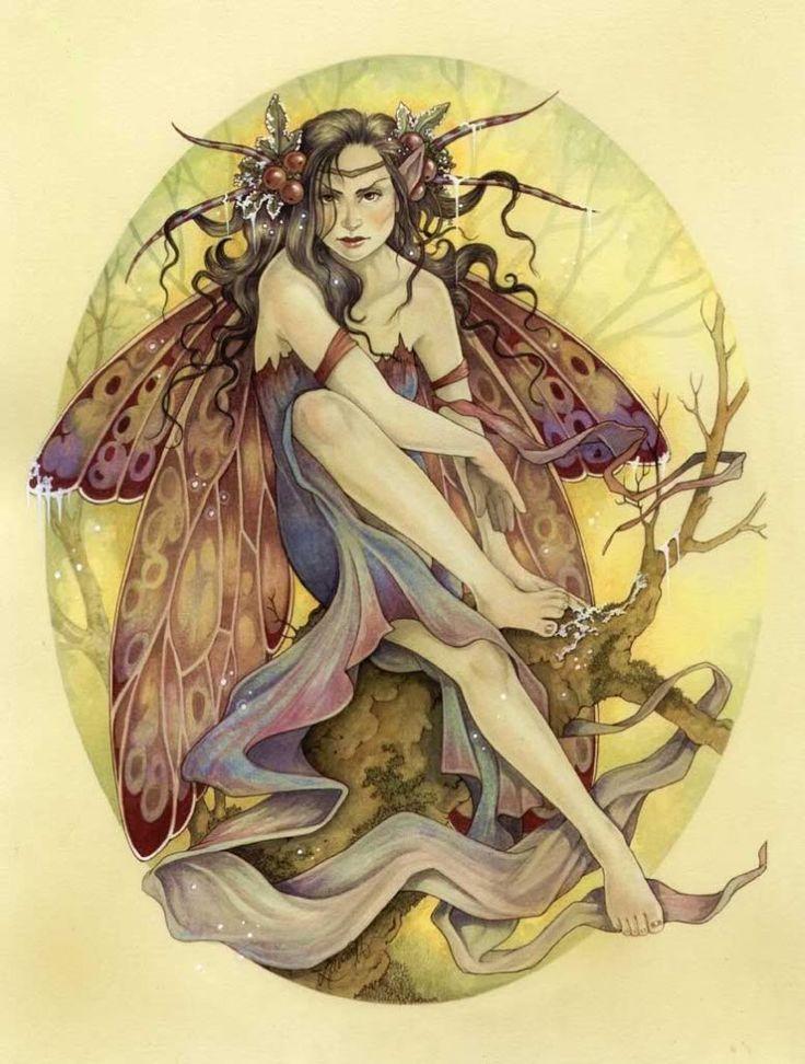 Fantasy Art: Fairies, Artist: Linda Ravenscroft