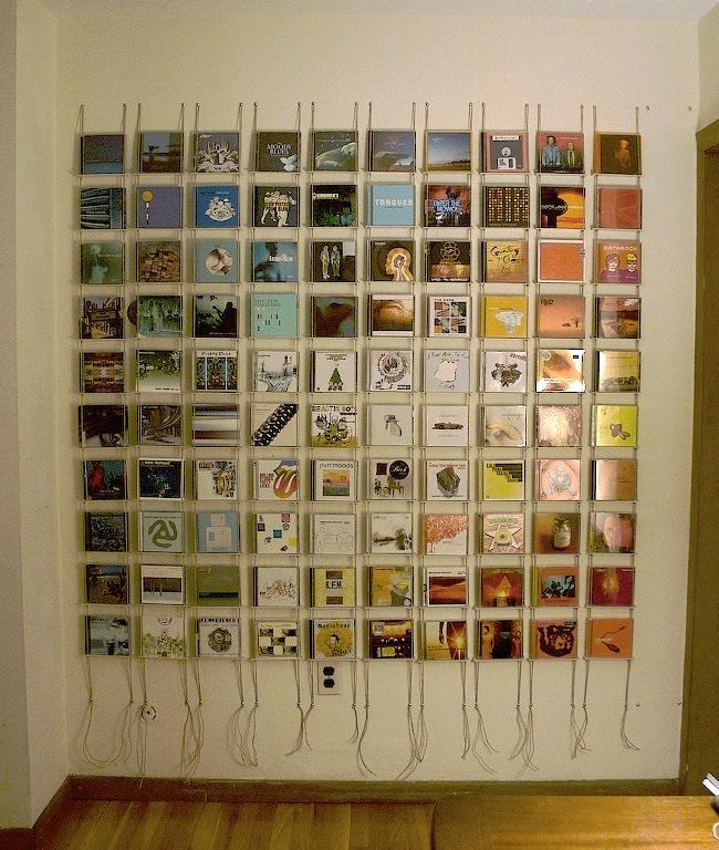I love this! I need to learn to make it for all my CD's.
