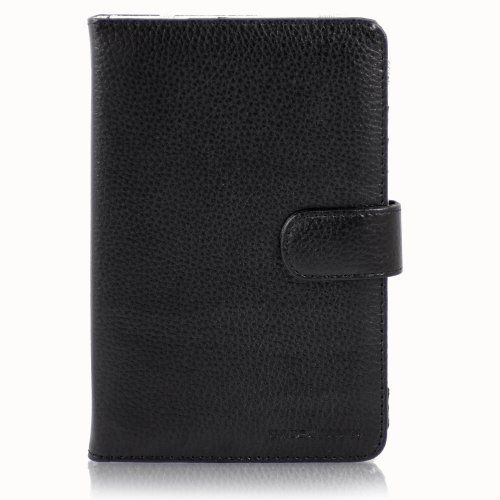 Casecrown Faux Leather Case (Black) for Kobo eReader by CaseCrown. Save 94 Off!. $2.00. This CaseCrown Faux Leather Case will securely hold and protect your Kobo eReader. The exterior is made from high quality faux leather with fine stitching. Easily open this case by removing the leather strap with a cross stitched, hex-decorated magnetic clasp. This case will protect your Kobo eReader from scratches, fingerprints, and dust. The leather interior straps will hold the Reader securely in...