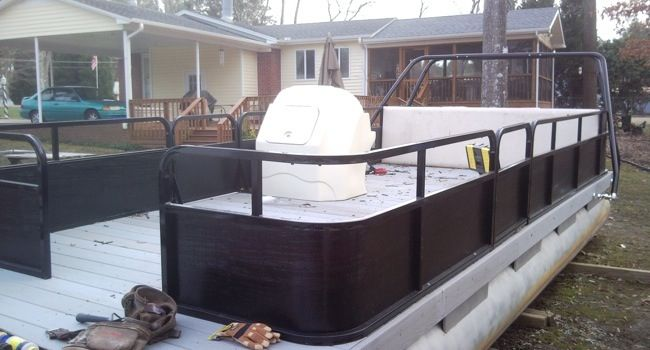 Your Mobile Technician: Pontoon Makeover