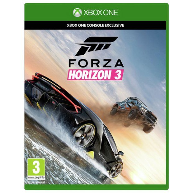 Buy Forza Horizon 3 - Xbox One Game at Argos.co.uk - Your Online Shop for Xbox One games, Xbox One, Video games and consoles, Technology.