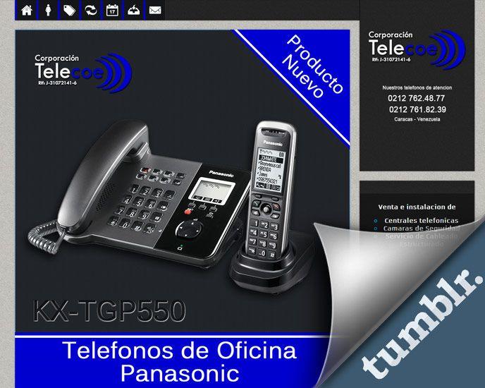 Tumblr Blog page for Corporacion Telecoe de Venezuela
