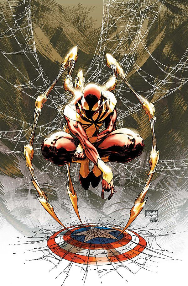 THE IRON SPIDER illustrated by Michael Turner
