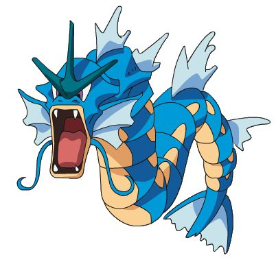 Gyarados has always been a pretty badass pokemon and the best part is that they're not very hard to obtain.