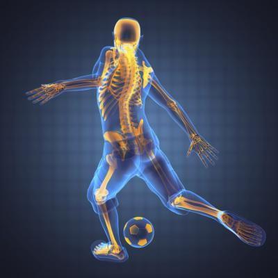 Treinamento e levantamento de pesos para jogadores de futebol