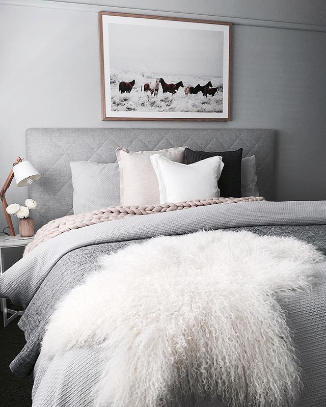 Simplistic Grey Master Bedroom: 25+ Best Ideas About Gray Bedding On Pinterest