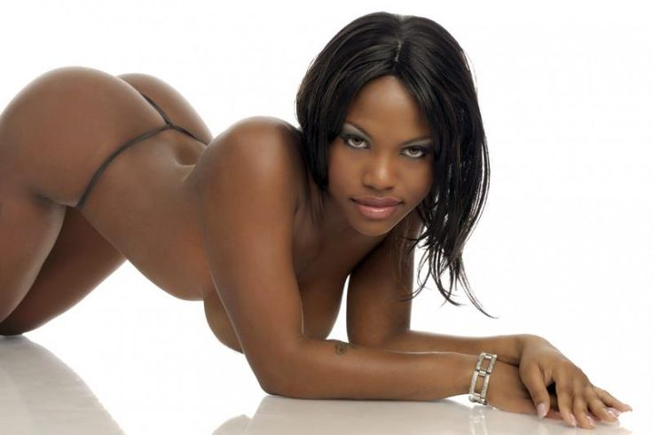 Ebony Nude Model 6