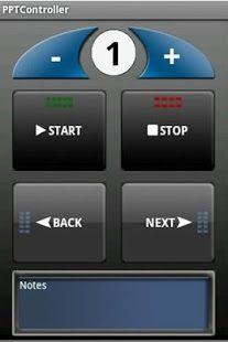 Handig: Powerpoint remote voor android telefoon.