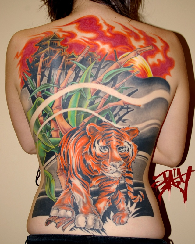 219 Best Images About Full Back Tattoos On Pinterest