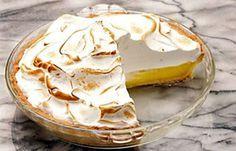 """Mil recetas faciles: LEMON PIE LIGHT...Esta versión del delicioso y clásico Lemon Pie es """"Light"""" porque que tiene muy poco azúcar y no lleva manteca."""