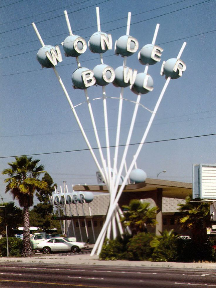 Wonder Bowl, Anaheim, California  #Anaheim #1960s