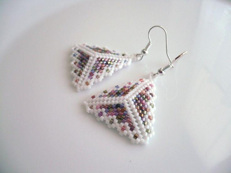 Handmade earrings/Handmade náušnice... ...  www.anabelhandmade.sk