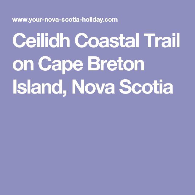 Ceilidh Coastal Trail on Cape Breton Island, Nova Scotia