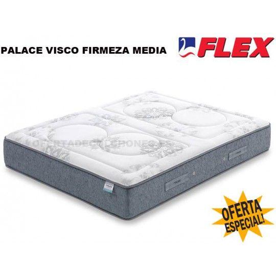 Colchon Palace Visco gel de flexCólchón palace visco gel, un colchon que combina el sistema de muellesMultielástic® NxT y la viscoelástica con gel.