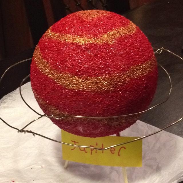 planet jupiter sytrofoam model - photo #7