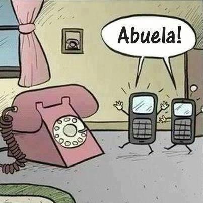 Poster para reírse - El teléfono
