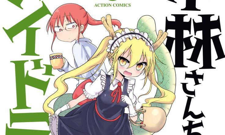 Αποτέλεσμα εικόνας για Kobayashi-san Chi no Maid Dragon anime