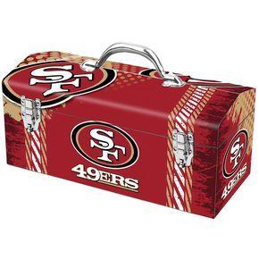San Francisco 49ers Steel Tool Box