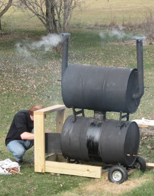 Home made meat smoker.... now we're talkin'! | crafts ...