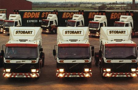 The business expands significantly, opening depots across the UK and Europe. This consistent, rapid growth helped make Eddie Stobart one of the UK's best-known brands.  1980s
