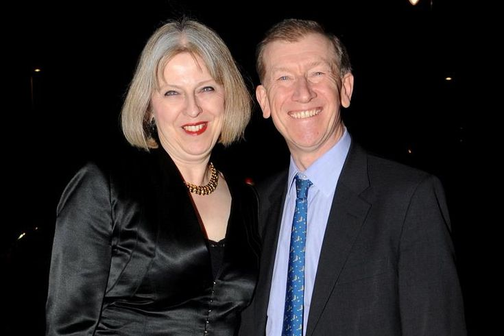 Philip John May husband of Theresa May Home Secretary of the UK since 2010, who announced her candidacy for leader of the Conservative Party