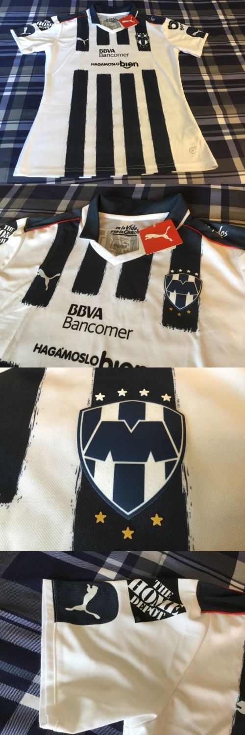 Women 159098: Rayados De Monterrey Mexico Futbol Puma New W Tags Large Women S Jersey -> BUY IT NOW ONLY: $55 on eBay!