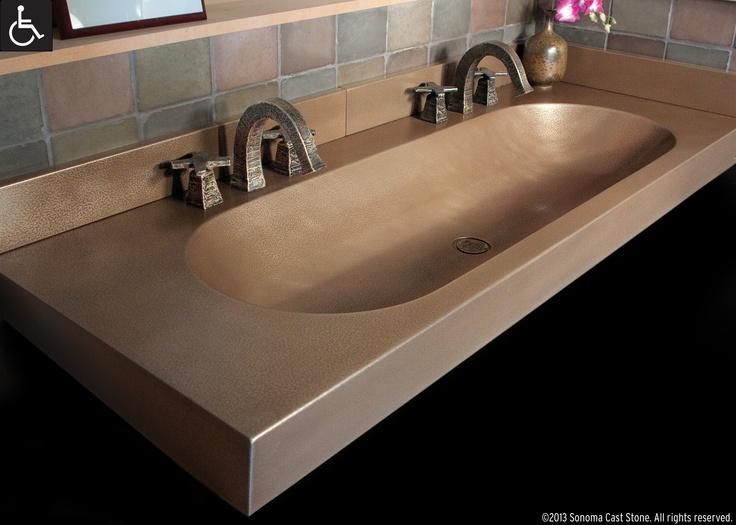 64 Best Concrete Sinks Trough Sinks Images On Pinterest