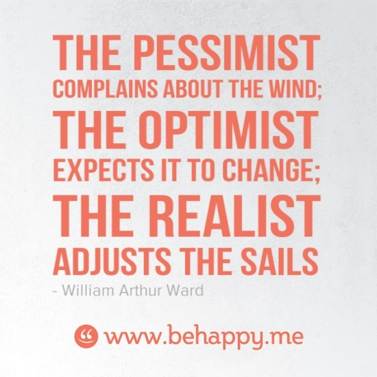 optimism versus reality Reading these optimistic quotes can really encourage you you will discover from many of these optimism quotes that not all optimism.
