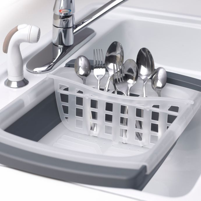 Prepworks Collapsible Over The Sink Dish Drainer With Images
