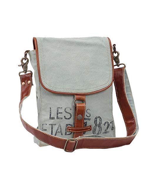 070e546254d8 Myra Bags 821 Upcycled Canvas Crossbody Bag M-0914