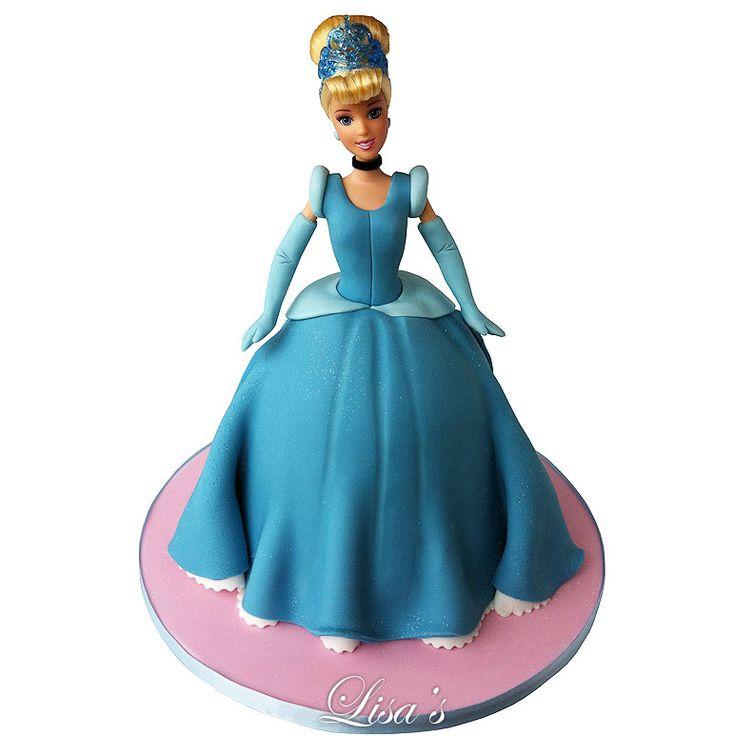 cinderella doll cake lisas