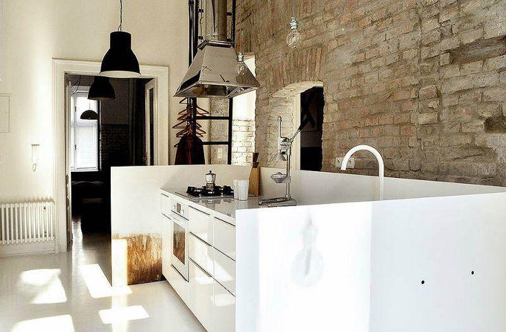 Lindo apartamento com tijolinho aparente e estilo escandinavo - limaonagua