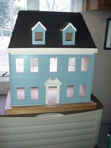 17 Best Images About Painted Dolls House On Pinterest