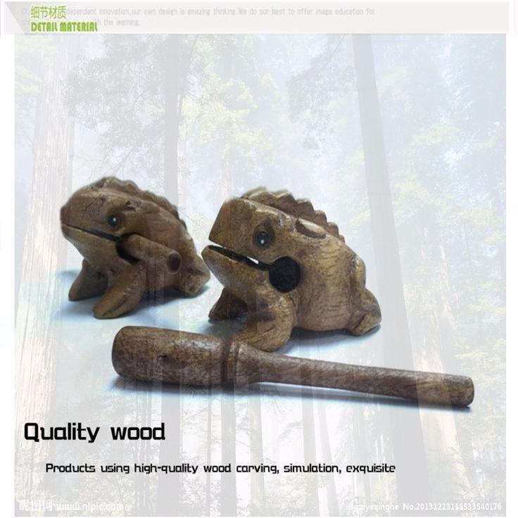 창조적 인 아이 나무 장난감 성인 까다로운 장난감 Woodden 개구리 애완 동물 모델 어린이 유아 교육 장난감/괜한 상자 D014