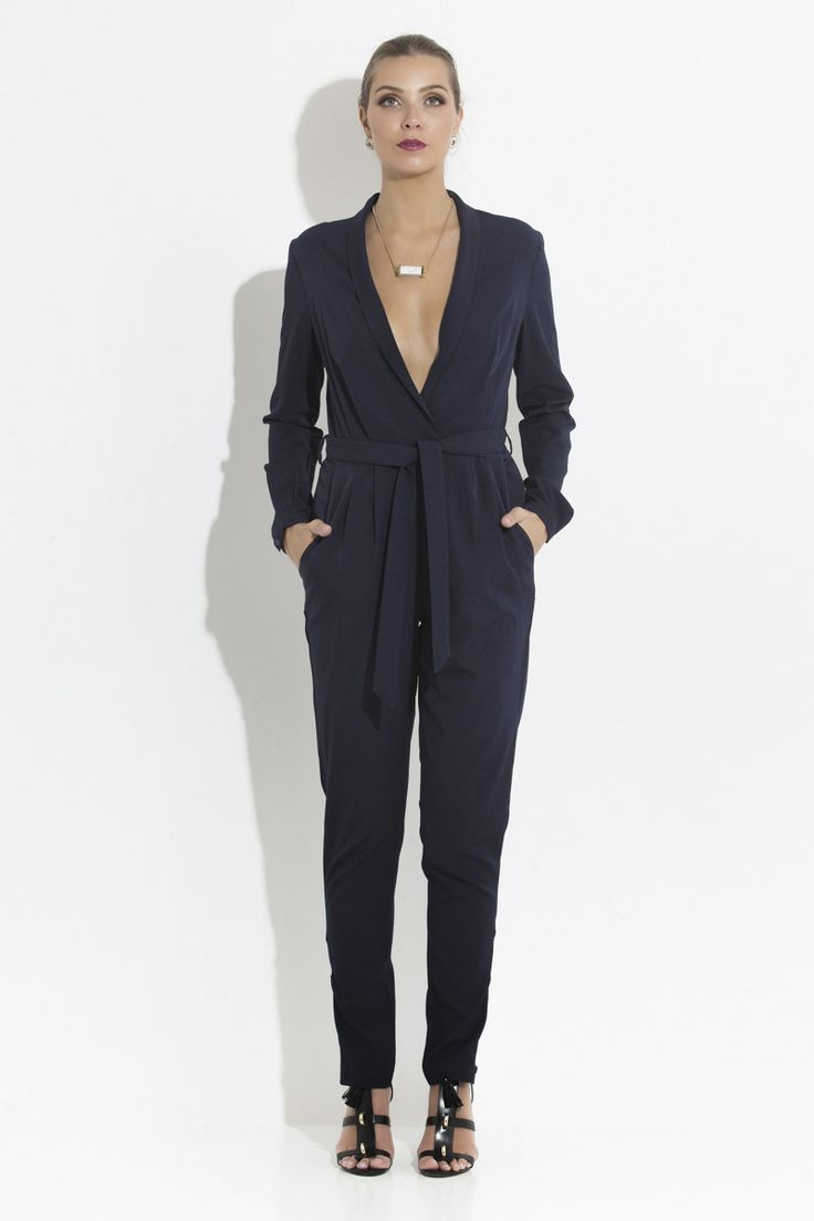 Midnight Jumpsuit _ Harvey Label