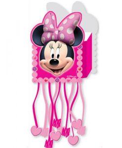 Minnie Mouse Püsküllü Pinyata ve Sopası