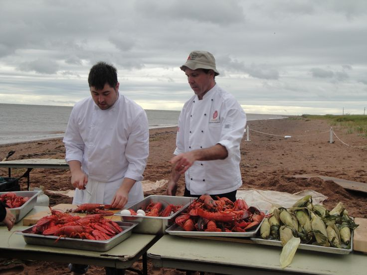 Lobster Party on the Beach, PEI. Sept 2013. Photo by Ariana Salvo