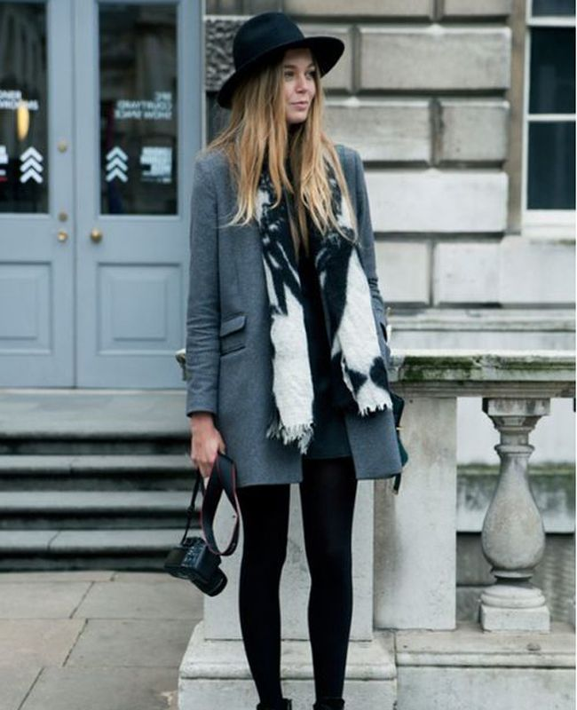 Cool and casual winter outfit idea