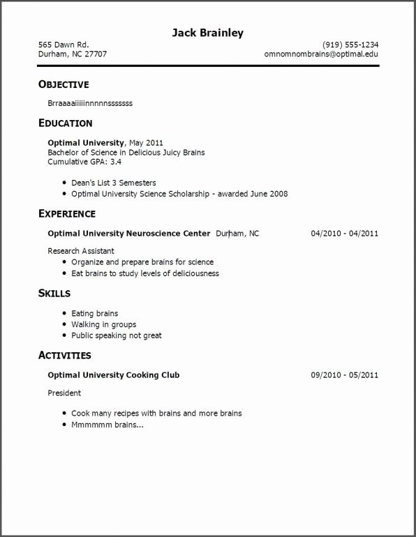 Resume Example For Teens.A Teenage Job Resume Examples Job Resume Template Resume