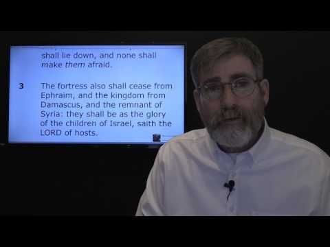 Damascus Falling Victim to Isaiah's Prophecy - YouTube 52:12 May 1, 2017 Isaiah 17