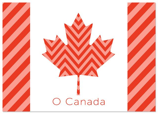 It Works For Bobbi!: O Canada Free Printable!