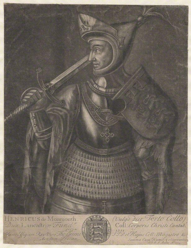 John of Gaunt (1340-1399), Prince and Steward of England; 4th son of Edward III John ('John of Gaunt'), Duke of Lancaster and Aquitaine