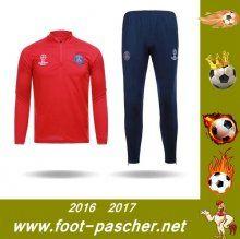 ligue 1 : Survetement Du PSG Rouge Saisson 2016 2017 Thailande Pas Chere