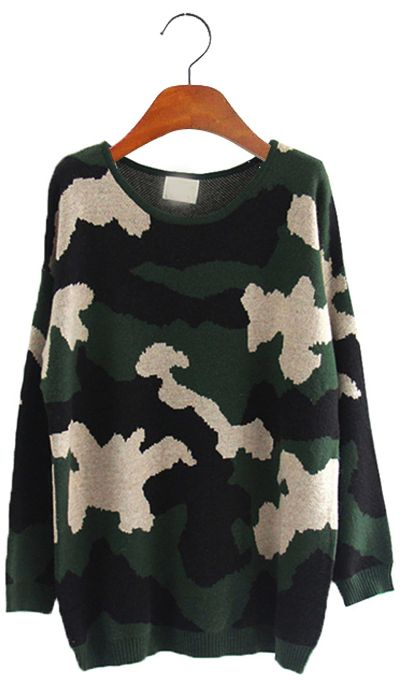 Camouflage jumper
