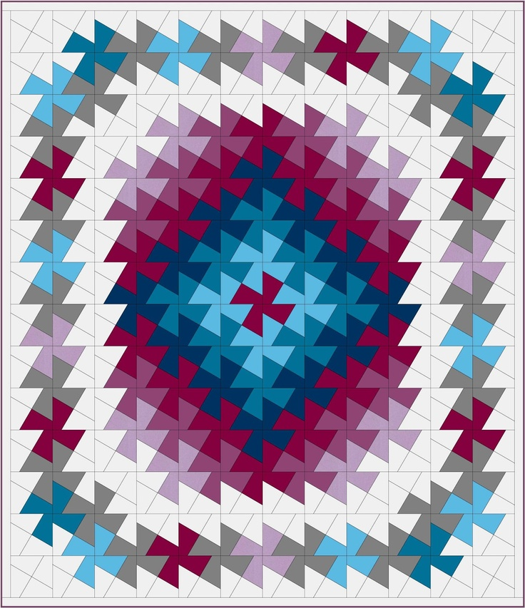 Free Twisted Pinwheel Quilt Pattern : twister quilt variation - inspiration patchwork Pinterest Nice, Quilt and Inspiration