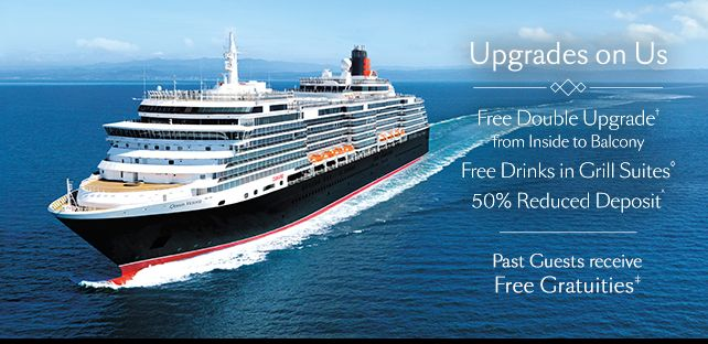 Cunard Promotion - Contact me for more information