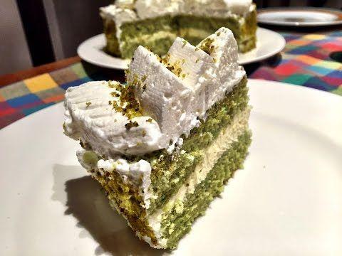 Pistachio cheesecake/ Torta fredda al pistacchio - YouTube