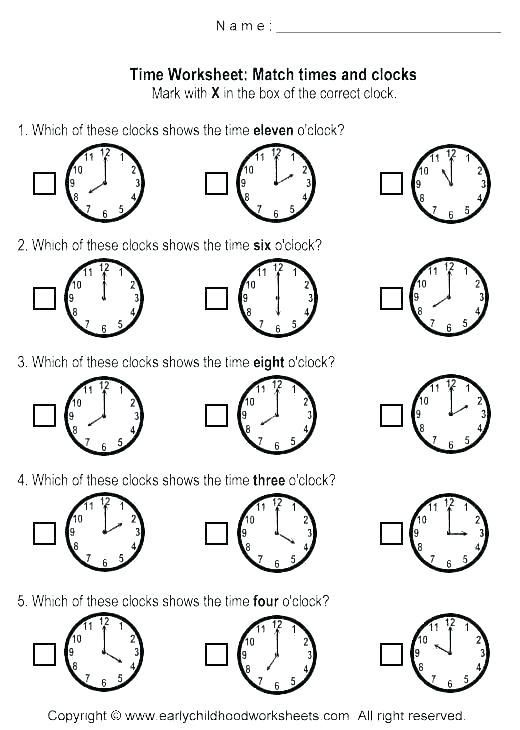 Telling Time Worksheets Grade 3 and Free Telling Time