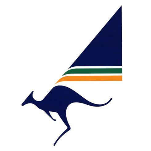 Retro Australian Airlines logo design